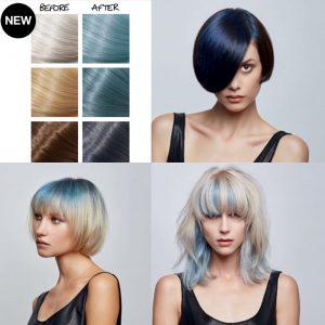 90s hair trend blue grunge